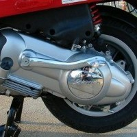 Vespa Engine Guard