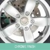 Chrome Finish Alloy Wheels