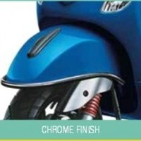 Piaggio Vespa VXL 125 Chrome Finish Front Guard