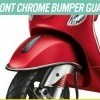 Front Chrome Bumper Guard