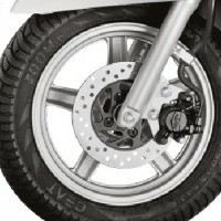 Access 125 Alloy Wheels And Disc Brake