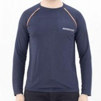 Renegade Commando Classic DRI FIT Full Sleeves T-Shirt Blue