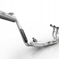 MT09 High - Mount Exhaust System