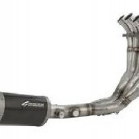 MT09 Low - Mount Exhaust System