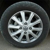 Stile Alloy Wheel With 4 inch