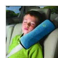 Stile Seat Belt Pad and Neck Pillow Set-Greige Coloured