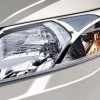 Head Lamp Chrome