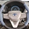 Steering Wheel Cover : Black and Blue