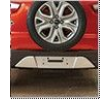 Rear Bumper Applique Silver