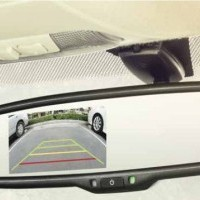 Ecosport Rear View Camera With Irvm Display