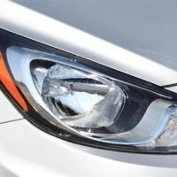 Accent Integrated Wrap Around Headlights
