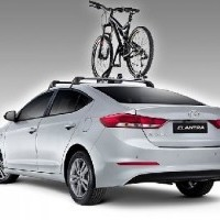 Elantra Thule Bike Rack - Wheel On