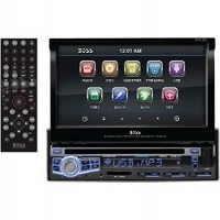 Single Din Music System with Bluetooth