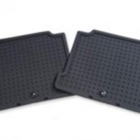 Sonata Rubber Floor Mats - Rear