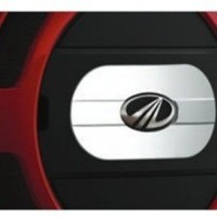 NuvoSport Sporty Chrome Accented Spare Wheel Cover