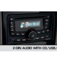 Verito Vibe 2-Din Audio With Cd Usb Aux-In