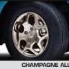 Champagne Alloy Wheels