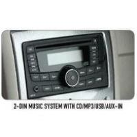 2-Din Music System With Cd Mp3 Usb Aux-In