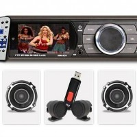 Kwid FM Music System and Front Door Speakers CD Player