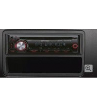 Rapid Kenwood Music System Dual Din with FR Spk