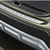 Rear bumper cover foil