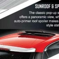 Bolt Sunroof and Spoiler