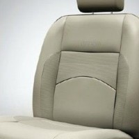 Etios Diesel Seat Cover Artificial Leather Black Silver