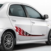 Platinum Etios Side Skirt Rh Lh