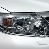 Fortuner  Head Lamp Chrome Cover