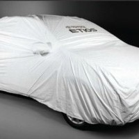 Liva Diesel  Car Cover Silver