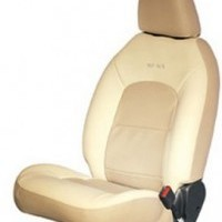 Etios Liva Seat Cover Artificial Leather Greige