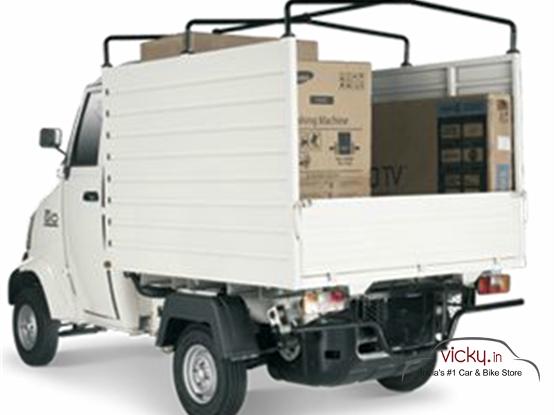 Mahindra Gio Safe Goods Delivery