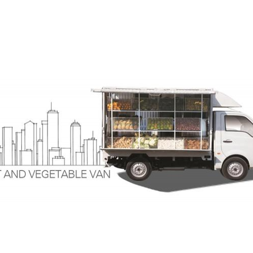 Tata Super Ace Fruit And Vegetable Van