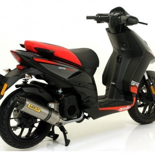 Aprilia Sr 125 Rear View
