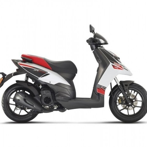 Aprilia Sr 125 White Color