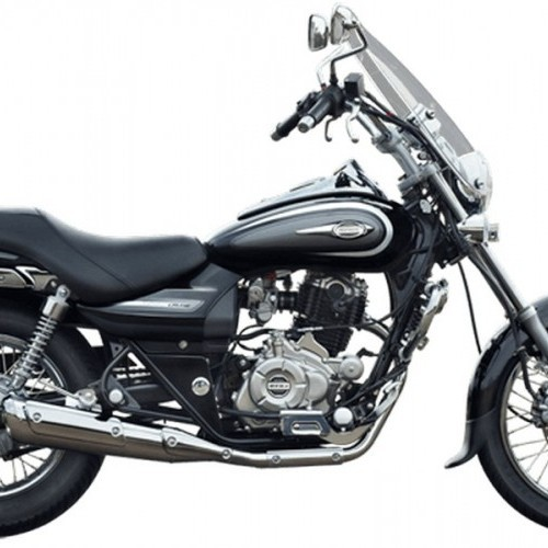 Bajaj Avenger Cruise 220 Color Chrome Black
