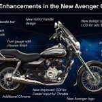 Bajaj Avenger Cruise 220 New Additions