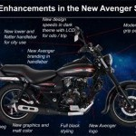 Bajaj Avenger Street 220 New Additions