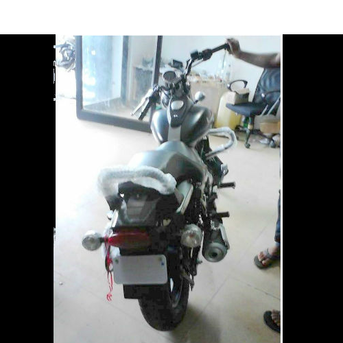 Bajaj Avenger Street Spy Picture Rear View
