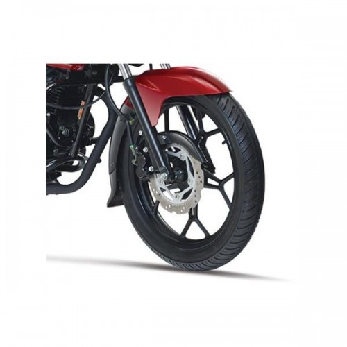 Bajaj Discover 150 F Front Wheel View