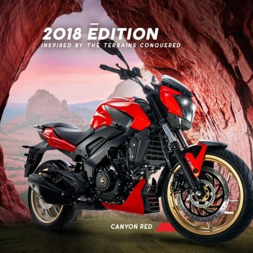 2018 Dominar 400 Red Color