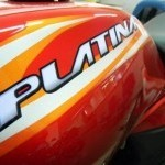 Bajaj Platina Tank Cover Graphics