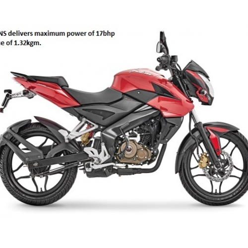 Bajaj Pulsar 150ns Side View