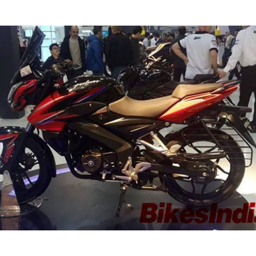 Bajaj Pulsar 150ns Side View Red Black