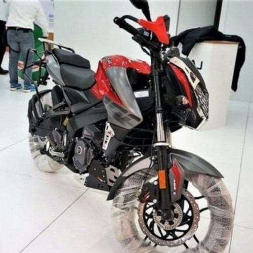 Bajaj Pulsar Ns 200 Adventure Front View