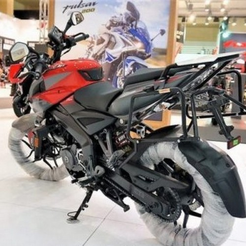 Bajaj Pulsar Ns 200 Adventure Rear View