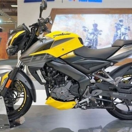Bajaj Pulsar Ns 200 Adventure Yellow With Grey Color