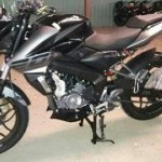 Pulsar 200Ns Black And Grey Color