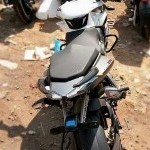 Pulsar 200Ns White Rear View
