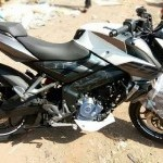 Pulsar 200Ns White Side View